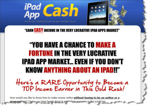 Product picture Brand *New* iPad App Cash w/ Master Resale Rights