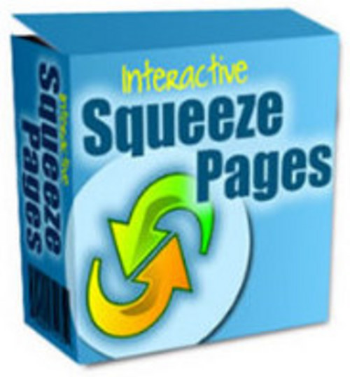 Product picture Brand *NEW* Interactive Squeeze Pages w/ MRR