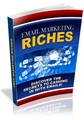 Product picture Brand *NEW* Email Marketing Riches w/ Master Resale Rights