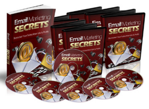 Product picture Brand *NEW* Email Marketing Secrets w/ Master Resale Rights