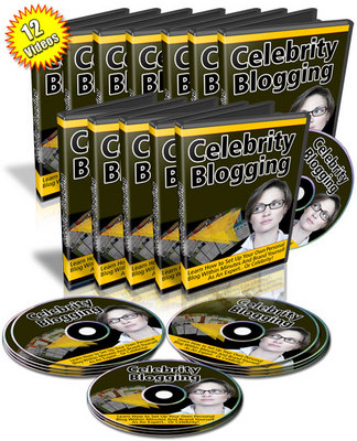 Product picture Brand *NEW* Celebrity Blogging w/ MRR